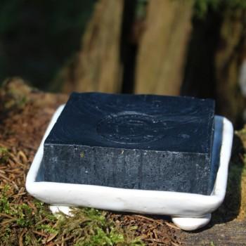 Bílá keramická mýdlenka