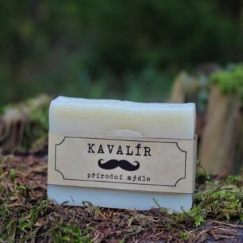 Pánské přírodní mýdlo borovice