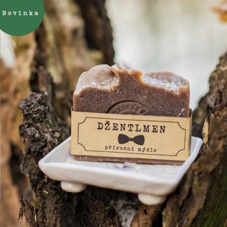 Pánské přírodní mýdlo santal