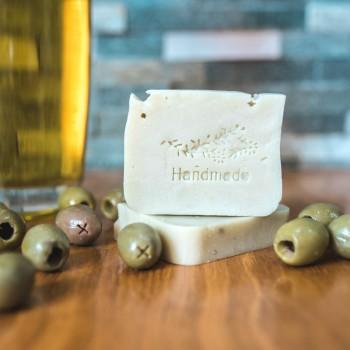 Olivové přírodní mýdlo